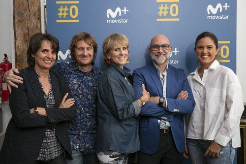 El equipo de 'Scott y Milá' al completo, el nuevo programa de Mercedes Milá