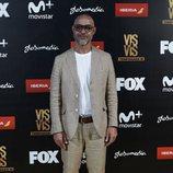 Ramiro Blas, el médico Sandoval en 'Vis a vis', en la presentación de la tercera temporada de la serie
