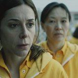 Mercedes, preocupada, en el segundo capítulo de la tercera temporada de 'Vis a vis'