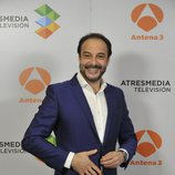 Roberto Vilar en la presentación de 'La noche de Rober'