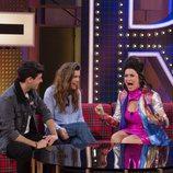 Silvia Abril, junto a Amaia y Alfred en 'La noche de Rober'