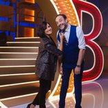 Silvia Abril y Roberto Vilar, presentadores de 'La noche de Rober' en Antena 3