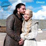 Jon y Daenerys posan para una campaña solidaria en una imagen exclusiva de Weekly Entertainment