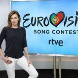 Nieves Álvarez, representante del jurado español en el Festival de Eurovisión 2018