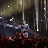 Cesár Sampson (Austria) en la Final de Eurovisión 2018