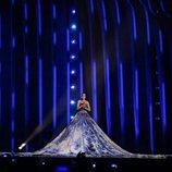 Elena Nechayeva (Estonia) en la Final de Eurovisión 2018