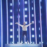 Mikolas Josef (República Checa) en la Final de Eurovisión 2018