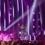 Jessica Mauboy (Australia) en la Final de Eurovisión 2018