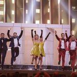 DoReDoS (Moldavia) en la Gran Final de Eurovisión 2018