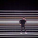 Benjamin Ingrosso (Suecia) en la Final de Eurovisión 2018