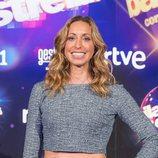 Gemma Mengual, en la presentación de 'Bailando con las estrellas'
