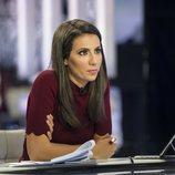 La periodista, Ana Pastor, en el plató de ´El Objetivo'
