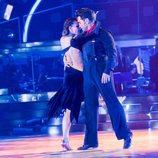David Bustamante bailando en la primera gala de 'Bailando con las estrellas'