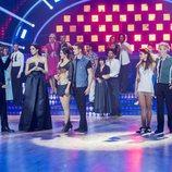 Merche y Fernando Guillén Cuervo, los menos votados de la primera gala de 'Bailando con las estrellas'