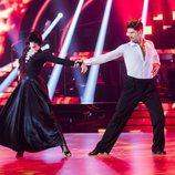Javier Hernanz en la primera gala de 'Bailando con las estrellas'