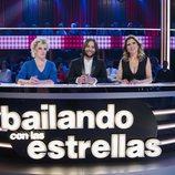 El jurado de 'Bailando con las estrellas' en la primera gala