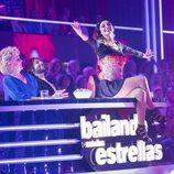 Merche durante su actuación en la primera gala de 'Bailando con las estrellas'