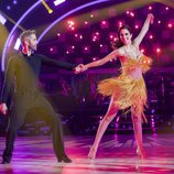 Roberto Leal y Rocío Muñóz bailan en la primera gala de 'Bailando con las estrellas'