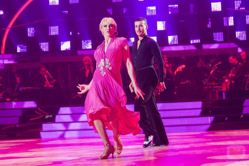 Topacio Fresh en la primera gala de 'Bailando con las estrellas'