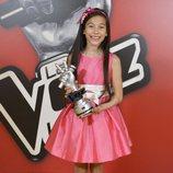Melani, ganadora de 'La Voz Kids 4'