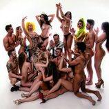 Alazán, dos aclamadas reinas junto a Torito, desnudas para Primera Línea