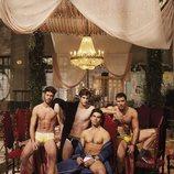 Cuatro de los protagonistas de 'Cupido' posan semidesnudos para Shangay