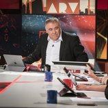 Antonio García Ferreras, presentando en la mesa de 'Al rojo vivo'