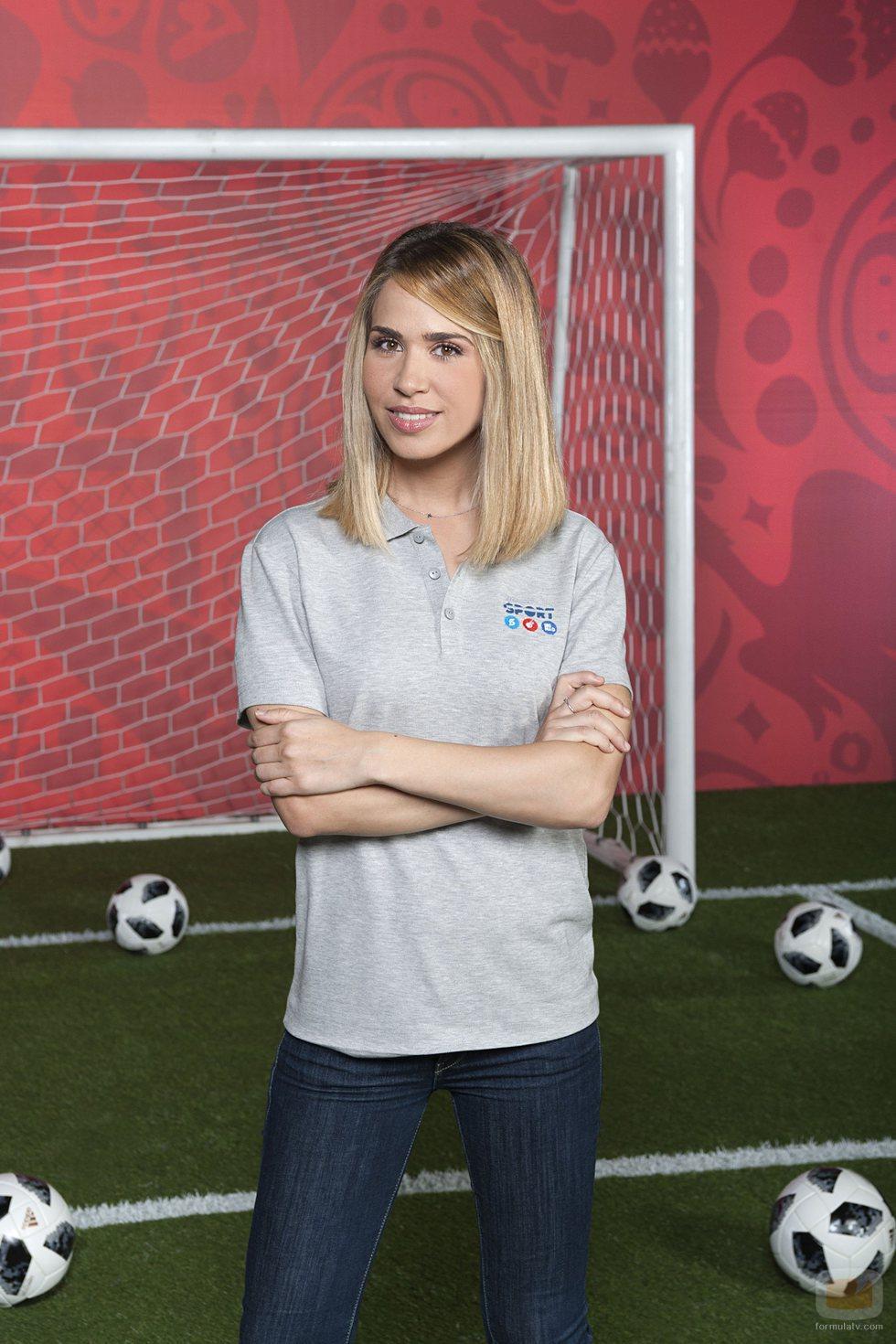 María Gómez, nuevo fichaje de Mediaset para el Mundial de Fútbol 2018
