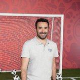 Juanma Castaño, a pie de campo para el Mundial de Fútbol 2018