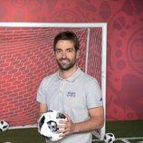 Ricardo Reyes, reportero del Mundial de Futbol 2018 para Mediaset España