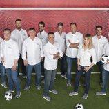 Equipo al completo de Mediaset España para el Mundial de Futbol 2018