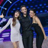 Aitana, Roberto Leal y Ana Guerra en 'Bailando con las estrellas'