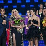 Topacio Fresh e ibán, primera pareja expulsada de 'Bailando con las estrellas'