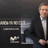 Iñaki Gabilondo promocionando la tercera temporada de 'Cuando yo no esté'