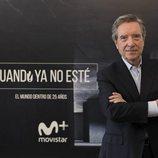 Iñaki Gabilondo en la presentación de la tercera temporada de 'Cuando yo no esté'