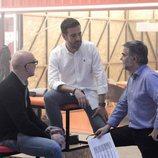 Fernando Jerez, Álvaro Díaz y Floren Abad en la Escuela de 'Fama a bailar'
