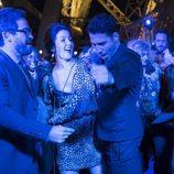 Hernando, Daniela y Lito bailan en el último capítulo de 'Sense8'