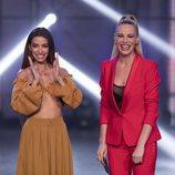 Paula Vázquez y Eleni Foureira, juntas en 'Fama a bailar'