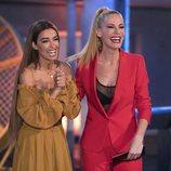Eleni Foureira riéndose con Paula Vázquez en 'Fama a bailar'