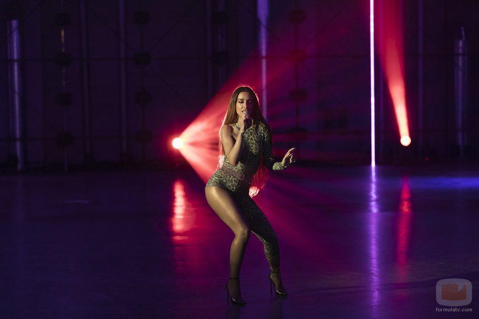 """Eleni Foureira cantando """"Fuego"""" en 'Fama a bailar'"""