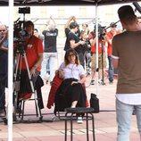 Noemí Galera en el primer casting para 'OT 2018' en Barcelona