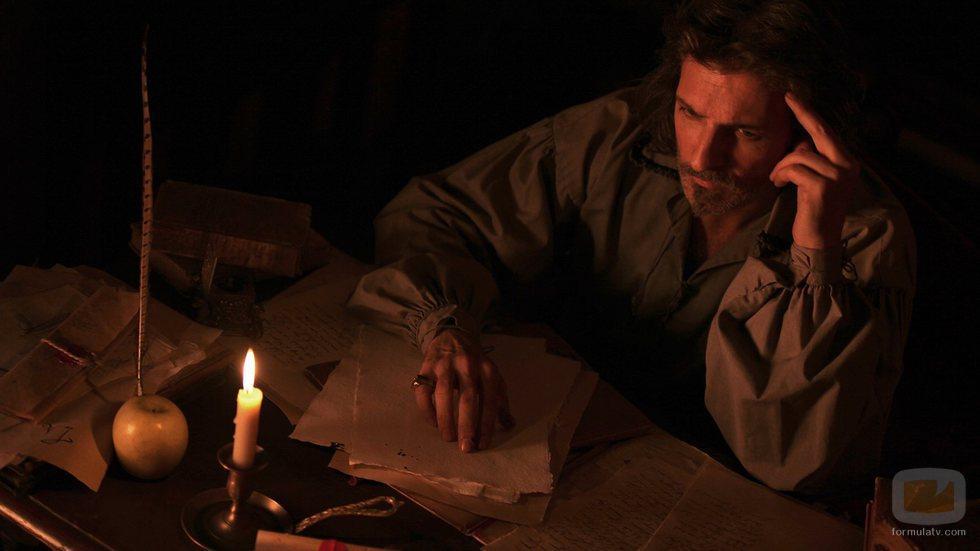 Jesús Olmedo como Lope de Vega en la tvmovie 'Lope enamorado'