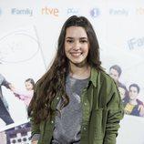 Sara Vidorreta en la presentación de 'iFamily' de La 1
