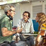 Mariano Barroso, Oriol Pla y Aura Garrido en 'El día de mañana'