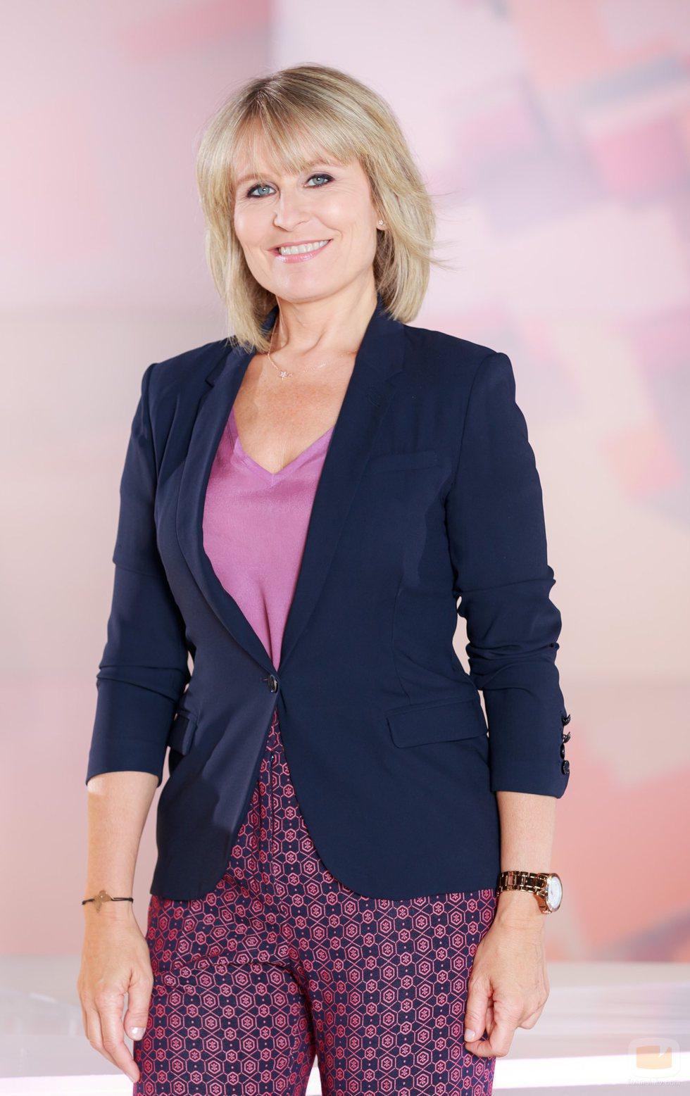 María Rey, presentadora del nuevo programa de Telemadrid, '120 minutos'