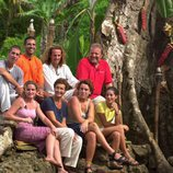 El equipo Norte de 'Supervivientes: Expedición Robinson' con Juanma López Iturriaga