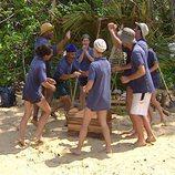 El equipo Sur de la primera edición de 'Supervivientes: Expedición Robinson'