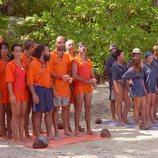 Los concursantes de la segunda edición de 'Supervivientes: Expedición Robinson'