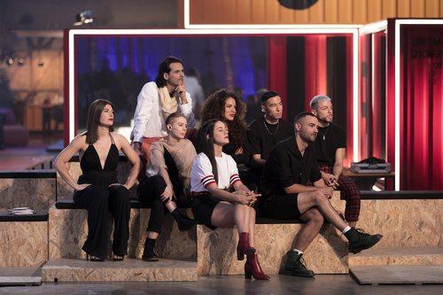 Los profesores de 'Fama a bailar' durante la final del concurso