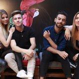 Nerea, Raoul, Agoney y Mimi en el Carrefest Music Talent 2018